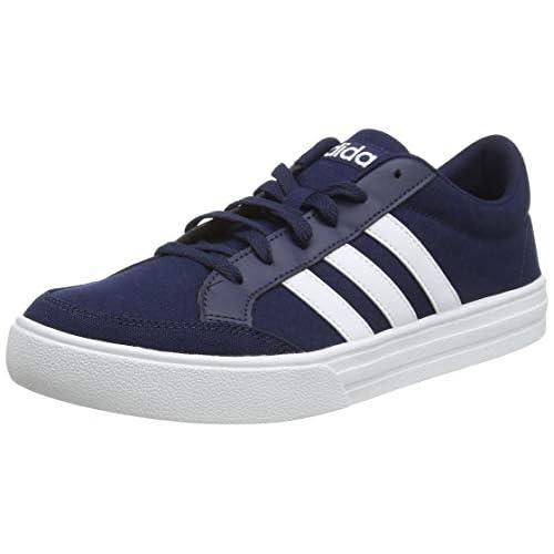chollos oferta descuentos barato adidas Vs Set Zapatillas de Deporte para Hombre Azul Collegiate Navy FTWR White FTWR White 40 EU