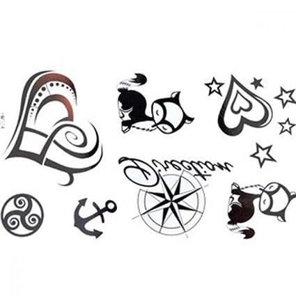 Tattoo adhesivo Animal estrellas de estanco hembra en forma de ...