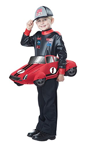 California Costumes Speedway Champion Costume, Black/Red, Toddler (3-6) -