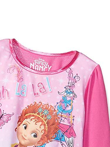 b86ec6c63fed Disney Fancy Nancy Girls Long Sleeve Nightgown Pajamas