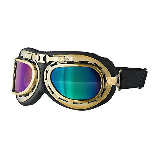 WWE Becky Lynch Aviator Goggles Purple/Blue/Black One - Wwe Sunglasses