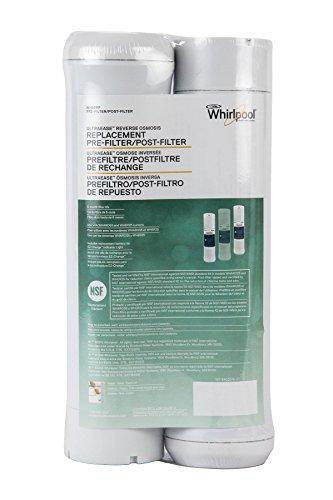 090259890439 - Whirlpool WHEERF Reverse Osmosis Replacement Pre/Post Water Filters (Fits Systems WHAROS5, WHAPSRO & WHER25) carousel main 1