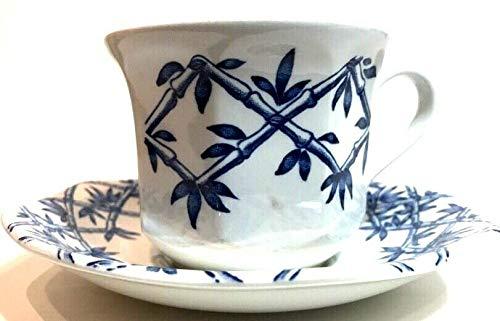 J & G Meakin China TRELLIS BLUE Cup & Saucer Set(s) EXCELLENT