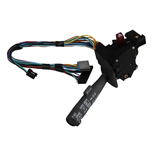 Big-Autoparts Cruise Control Windshield Wiper Arm Turn Signal Lever Switch for Chevy Truck GMC