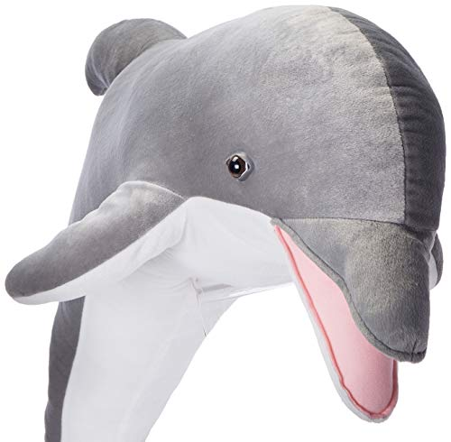 Melissa & Doug Giant Dolphin - Lifelike Stuffed Animal (nearly 4 feet long)