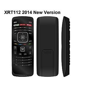 New Beyution XRT112 2014 LCD LED TV Remote Control Amazon Netlix iHeart Radio App Key For VIZIO Smart LCD LED TV