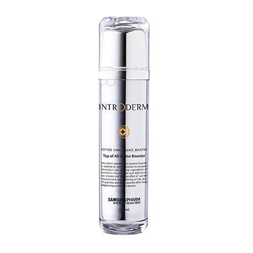 Samsung Pharm Introderm Peptide Omni Essence Booster 120ml K-beauty Anti Aging Creams Peptides For Skin Wrinkle Moisturizer Unscented Whitening Dual Functional Essence Review