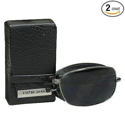 692fd21496c7 Amazon.com  (2 PACK) Foster Grant Polarized Folding Sunglasses ...