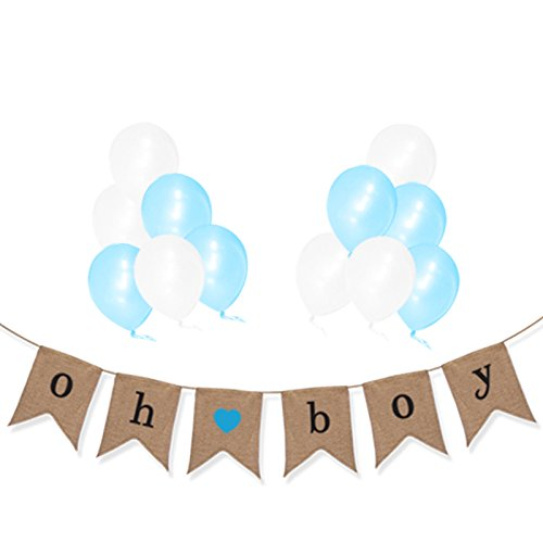 Rustic Baby Shower Decorations Boy Amazoncom