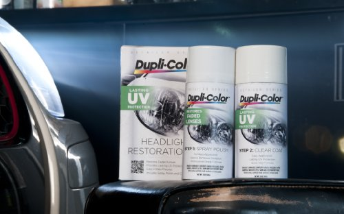 Dupli-Color EHLR10000 Headlight Restoration Kit