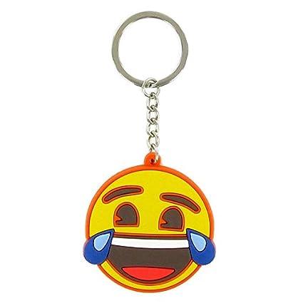 Llavero Emoji Cara Risa: Amazon.es: Juguetes y juegos
