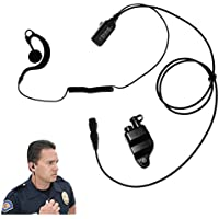 Falcon EP328QR Quick Release Lapel Microphone for Harris P5300, P5400, P5500, P7300, XG15, XG25, XG75
