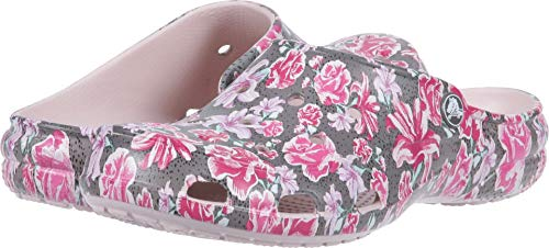 crocs Women's Freesail Clog Adults, multi floral/rose dust, 5 M US (Shoes Garden Womens)