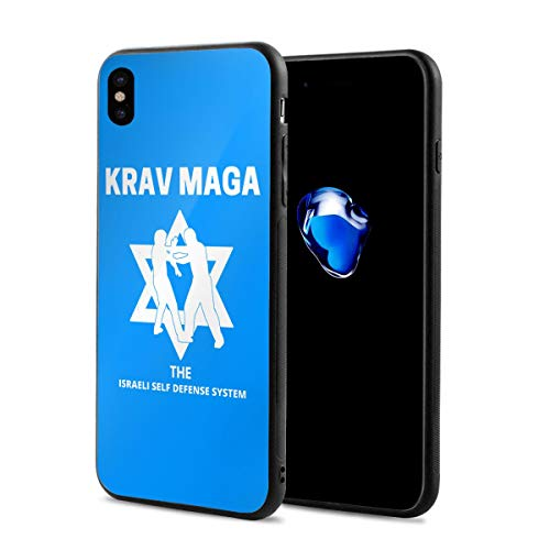 King Dare Krav MAGA iPhone Xs Case/iPhone X Case Soft TPU Shell Full Protective Bumper Anti-Scratch Case Enhanced Grip Protective Defender Cover (Best Shin Pads For Defenders)