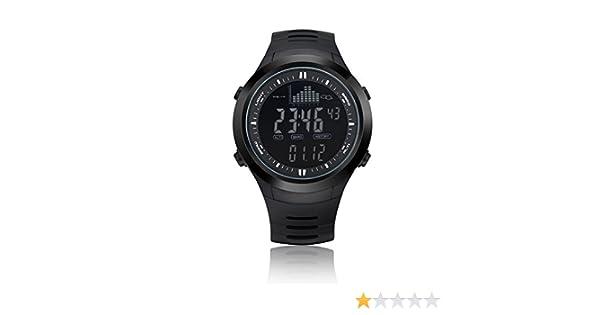 NORTH EDGE - Reloj de pulsera LED para hombre, digital, uso exterior, retroiluminación, estilo deportivo, resistencia al agua a 50 m, multifunción