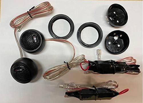 MB QUART QS 165T 25 mm Gewebehocht/öne Paar mit 12dB In-Line Kabel Frequenzweiche