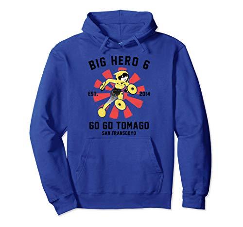 Disney Big Hero 6 Go Go Tomago Poster Graphic Hoodie (Big Hero 6 Gogo Tomago)