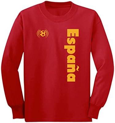 Camiseta de Manga Larga para niños - Apoya a la selección Española ...