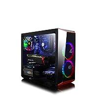 CLX Set VR-Ready Gaming Desktop - Intel Core i7 9700K 8-Core, 16GB DDR4, NVIDIA GeForce RTX 2060 6GB, 240GB SSD+2TB HDD, WiFi, Win 10
