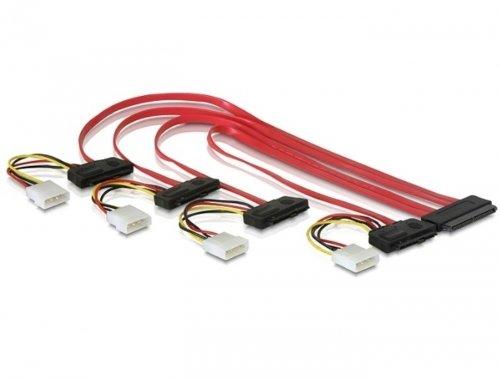 MHE EDV Cable SAS Cable SCSI 32 Pin to 4 x 29 Pin 0.5 m 7800092
