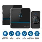 Best Wireless Doorbells - X-Sense C2 Wireless Doorbell Chime Kit, Operating at Review
