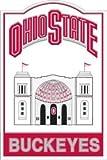 Ohio State Buckeyes Nostalgic Metal Sign