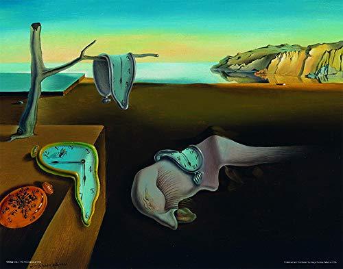 (Culturenik Salvador DALI-Persistence of Memory (Surrealist Painting Art) (11 X 14 UNFRAMED Print))