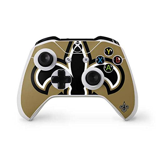 New Orleans Controller Saints (Skinit NFL New Orleans Saints Xbox One S Controller Skin - New Orleans Saints Large Logo Design - Ultra Thin, Lightweight Vinyl Decal Protection)