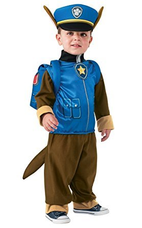 Evolution's Toddler PAW Patrol Chase Child Halloween Costume Small (Paw Patrol Chase Toddler Costume)