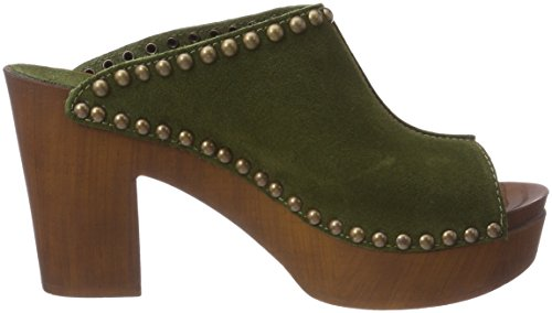 Replay Damen Xiana Clogs Grün (Mil Grn)