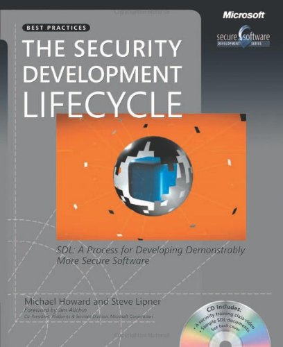 The Security Development Lifecycle (Developer Best Practices) (Application Security Best Practices)