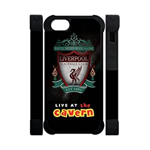 Footclthcase Dark Liverpool Football Club Candle Live at the Cavern Case Cover for Iphone 5s 5 Dual-Protective Polymer