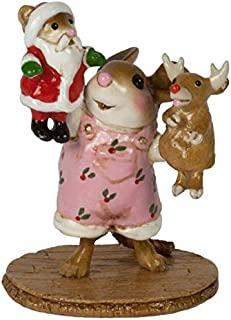 product image for Wee Forest Folk M-657a The Santa and Rudy Show - Girl (New 2018)