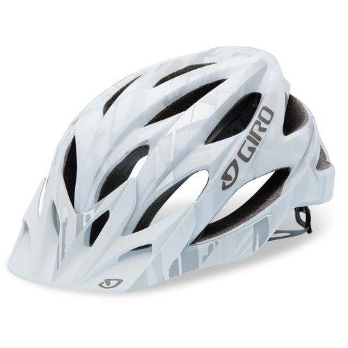 Giro Xar matt white/grey bars (Size: S) Mountain Bike Helmet by Giro
