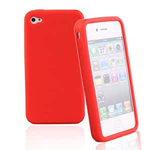 QHY Silicone Protective Case for iPhone4 (Random Color)