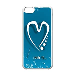 love Unique Fashion Printing Phone Case for Iphone 5C,personalized cover case ygtg604625