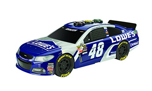 Toy State Road Rippers Come-Back Racers NASCAR 2016 Jimmie Johnson Lowe's Chevrolet Light & Sound Vehicle - Jimmie Johnson Light