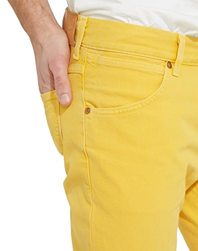 8k Uomo daffodil Pantaloni Yellow Giallo Larston Wrangler wZxEqCFYIW
