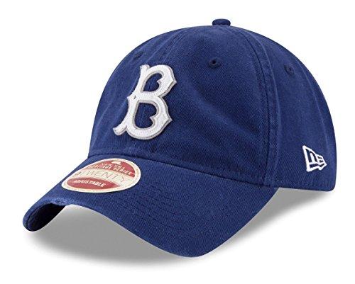 New Era Dodgers Brooklyn (New Era Brooklyn Dodgers MLB 9Twenty Cooperstown Rugged Patch Adjustable Hat)