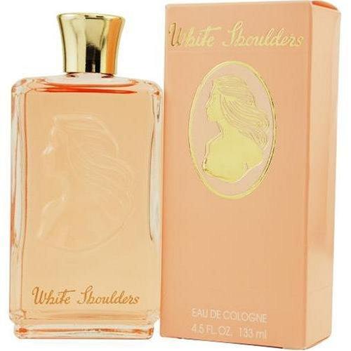 White Shoulders By Evyan For Women. Eau De Cologne 4.5 oz (Perfume Shoulders White Gardenia)