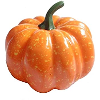 "3"" (80mm) Mini Artificial Pumpkins - Package of 12"