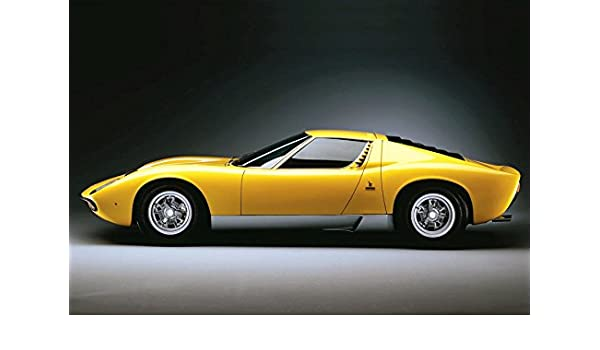 Amazon Com Lamborghini Miura Poster 13x19 Quality Color Print