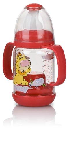 (Nuby BPA FREE Infant Feeder Feeding Bottle Set, Red)