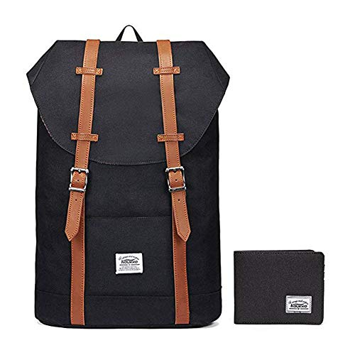 Lightweight Outdoor Backpack, KAUKKO Travel Casual Rucksack Laptop Daypack for 15