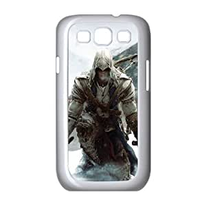 Samsung Galaxy s3 9300 White Cell Phone Case Assassins Creed LWDZLW1109 Back Design Phone Case Cover
