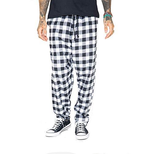 SKIDZ Original Pants, Black and White Plaid