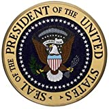 White House Presidential Seal Mahogany Plaque Mint