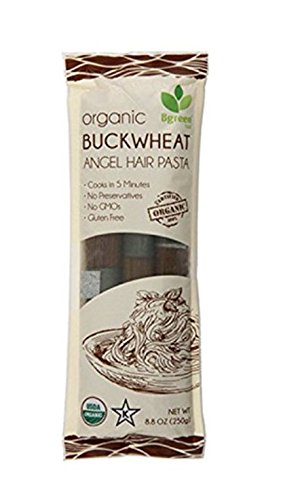 BGREEN ORGANIC BUCKWHEAT ANGEL HAIR PASTA 8.8 OZ