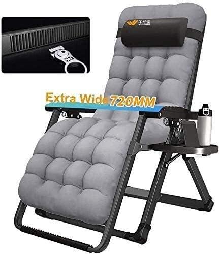 ADHW Reclinable, sillas reclinables Exterior, jardín Plegable Silla del Patio de butaca, sillón reclinable de Aluminio Ajustable Tumbona, Sillas de Cubierta Interior: Amazon.es: Hogar
