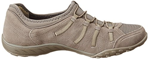 Skechers Sport Damen Atmen Leicht Big Bucks Fashion Sneaker Taupe